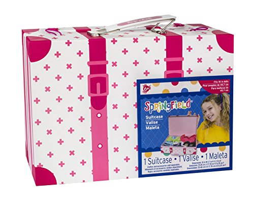 Springfield 18 Inch Doll Accessories, Suitcase (Doll Suitcase)