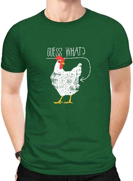 D-X Americana Creativa Simple de Algodón Ropa Divertida Tendencia de Los Hombres Camiseta Casual, Verde, Metro: Amazon.es: Deportes y aire libre