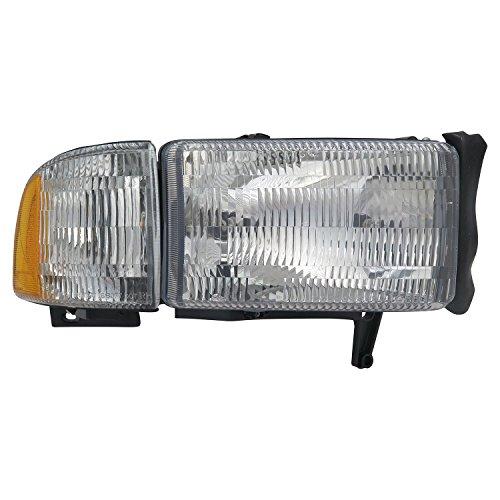 01 dodge ram 1500 head lamp - 6