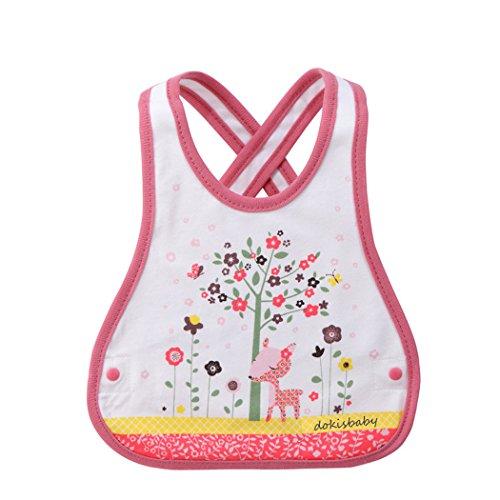 [Fashion cartoon bibs baby feeding clothing bibs burp cloths (style 1)] (Creative Halloween Costumes 1 Year Old)