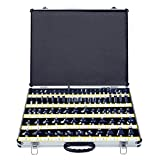 Neiko 10115A Premium Tungsten Carbide Router Bits | 80-Piece Set | Aluminum Storage Case