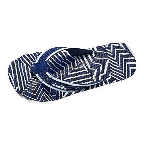 Damen Flip Flops Herren DIADORA Meer Schwimmbad 171941schwarz blau Coral Beach 4