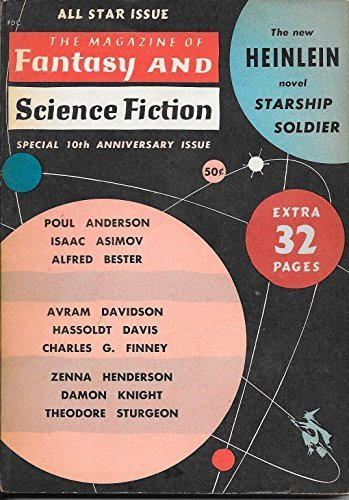 The Magazine of Fantasy and Science Fiction, October 1959