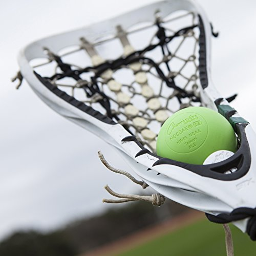 Lacrosse Balls - NCAA NFHS Certified - Lime Green