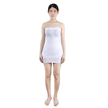 Andux mini vestido sin tirantes faja ropa interior para mujer SS-W03 de vestido de