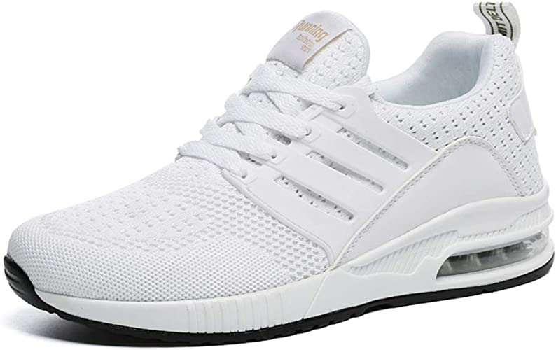 Hombre Mujer Zapatillas Running para Aire Libre y Deporte Transpirables Casual Zapatos Gimnasio Correr Sneakers ...