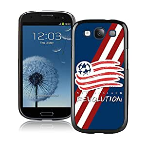 Samsung Galaxy S3 New England Revolution Black Screen Cellphone Case DIY and Fashion Cover