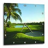 Cheap 3dRose dpp_80826_3 Golf Course on Thailand-Wall Clock, 15 by 15-Inch