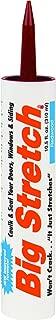 product image for Big Stretch Sashco Redwood Acrylic Rubber Caulk 10.5 oz. - Case of: 12