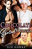 Chocolate Spiced Omega: an M/M Omegaverse Mpreg Romance (The Hollydale Omegas Book 5)