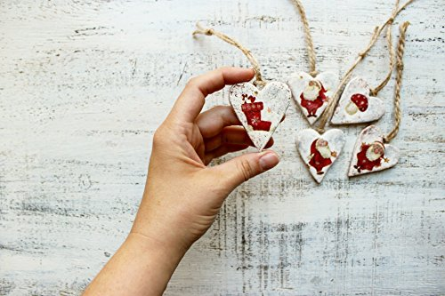 Set of 5 Christmas ornaments 210817-1