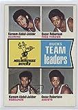 Oscar Robertson; Kareem Abdul-Jabbar (Basketball Card) 1974-75 Topps - [Base] #91