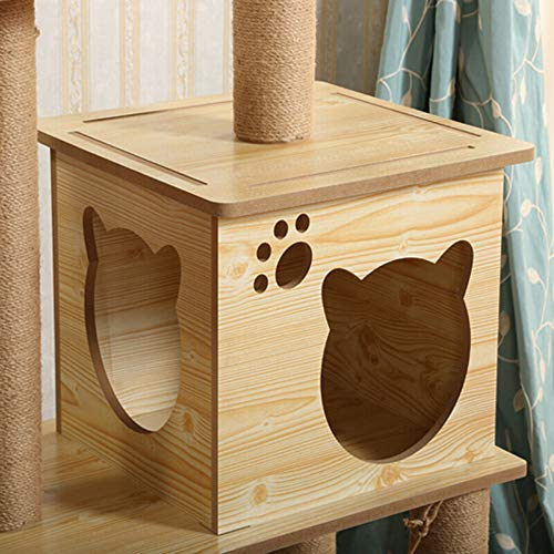 Amazon.com : Cat Tree-Cat Scratching Climbing Tower Activity Centre Furniture-for Kittens, Cats and Pets, S : Pet Supplies
