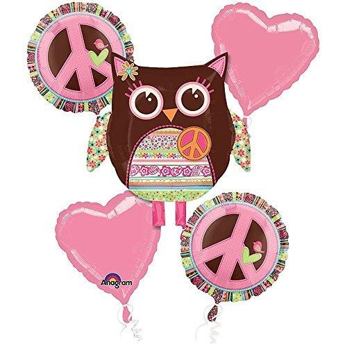 Mayflower BB101297 Hippie Chick Balloon Bouquet]()