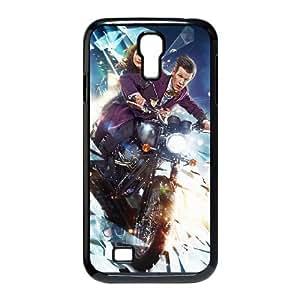 Doctor Who Funda Samsung Galaxy S4 9500 Funda Caja del teléfono celular Negro L3A3GP