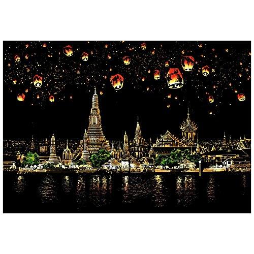 1 PC Bloc de Dessin de Carte à Gratter Scratch pour Enfants de FavouAll,Chiang Mai, Thaïlande