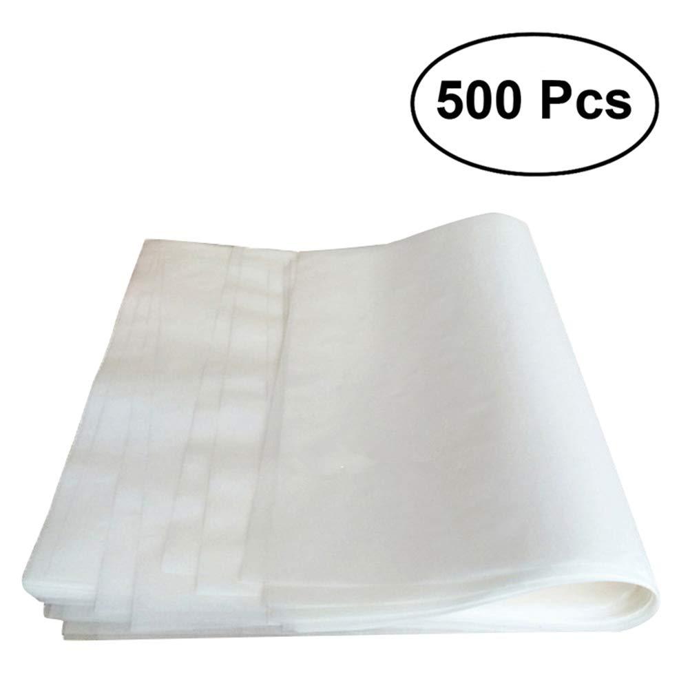 BESTONZON 500 PCS Parchment Paper Liners Non-Stick Baking Paper Steamer Paper Sheet 2535CM