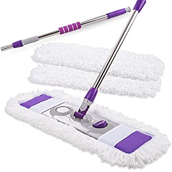 Amazon Com Aluminium Magic Microfiber Mop With 2