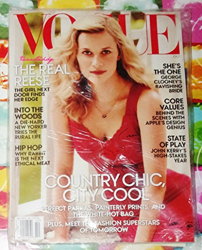 Vogue Magazine October 2014 (Reese Witherspoon Cover) (Fashion Classics 2014)