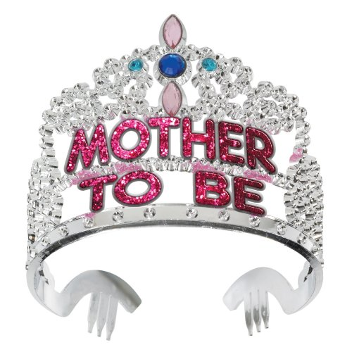 Forum Novelties Baby Shower Mother to Be Crown Tiara]()