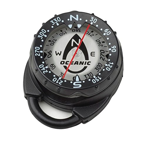New Oceanic Clip Mount Swiv Scuba Diving Compass