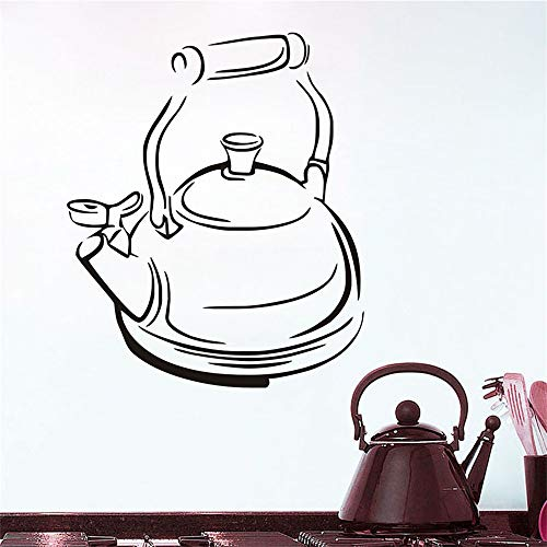 lanken Wall Sticker Family DIY Decor Art Stickers Home Decor Wall Art Stickers Tea Time Teapot Tile Kitchen Home Decor Decoration