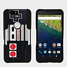 Google Nexus 6P Case Hard Shell Cover w/ Kickstand Soft Silicone by MINITURTLE - Game Controller