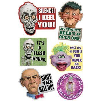 Jeff Dunham's Famous Puppets Refrigerator Magnets (Set of 6
