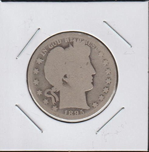 1895 O Barber or Liberty Head (1892-1915) Half Dollar About Good