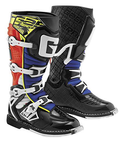 Gaerne 2018 G-React Boots (11) (RED/YELLOW/BLUE) from Gaerne
