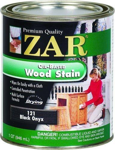 Zar 12112 Onyx Wood Stain, Black by ZAR