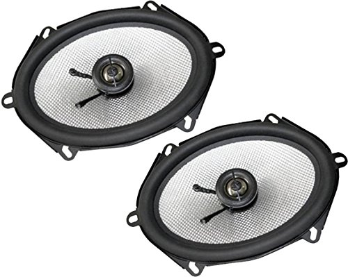 Earthquake Sound VTEK-57 2-Way Coaxial Speakers with Piston Max Technology (Pair) Technology Piston