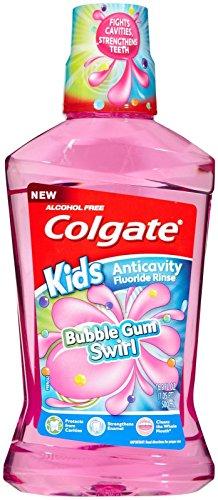 Colgate Mouthwash, Bubble Gum Swirl , 16.9 oz