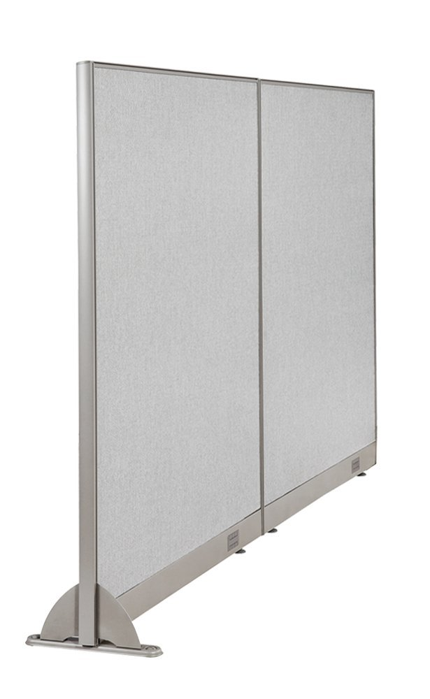 GOF Wall Mounted Office Partition, 96W x 60H / Office Panel, Room Divider … (96W x 60H)