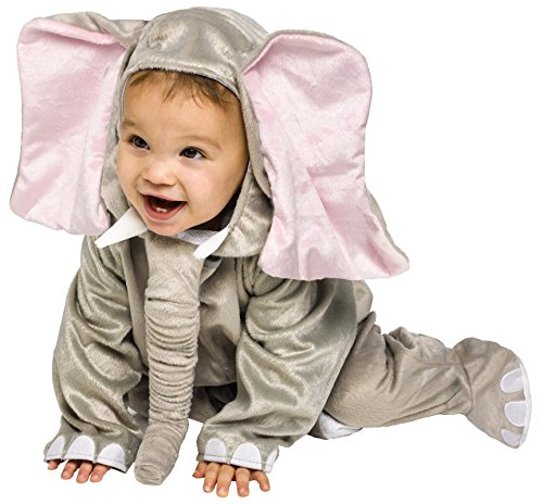 Cuddly Elephant Toddler Costumes (Cuddly Elephant Infant Costume, 12-24 Months)