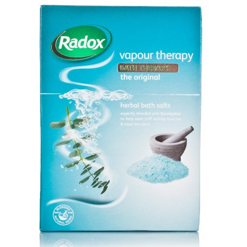 - Radox Original Vapour Therapy Herbal Bath Salts 400g/14 ounces