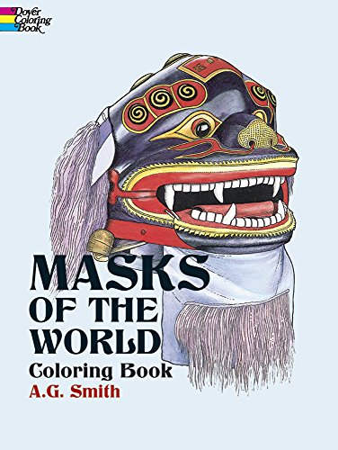 Masks of the World Coloring Book (Dover History Coloring Book)