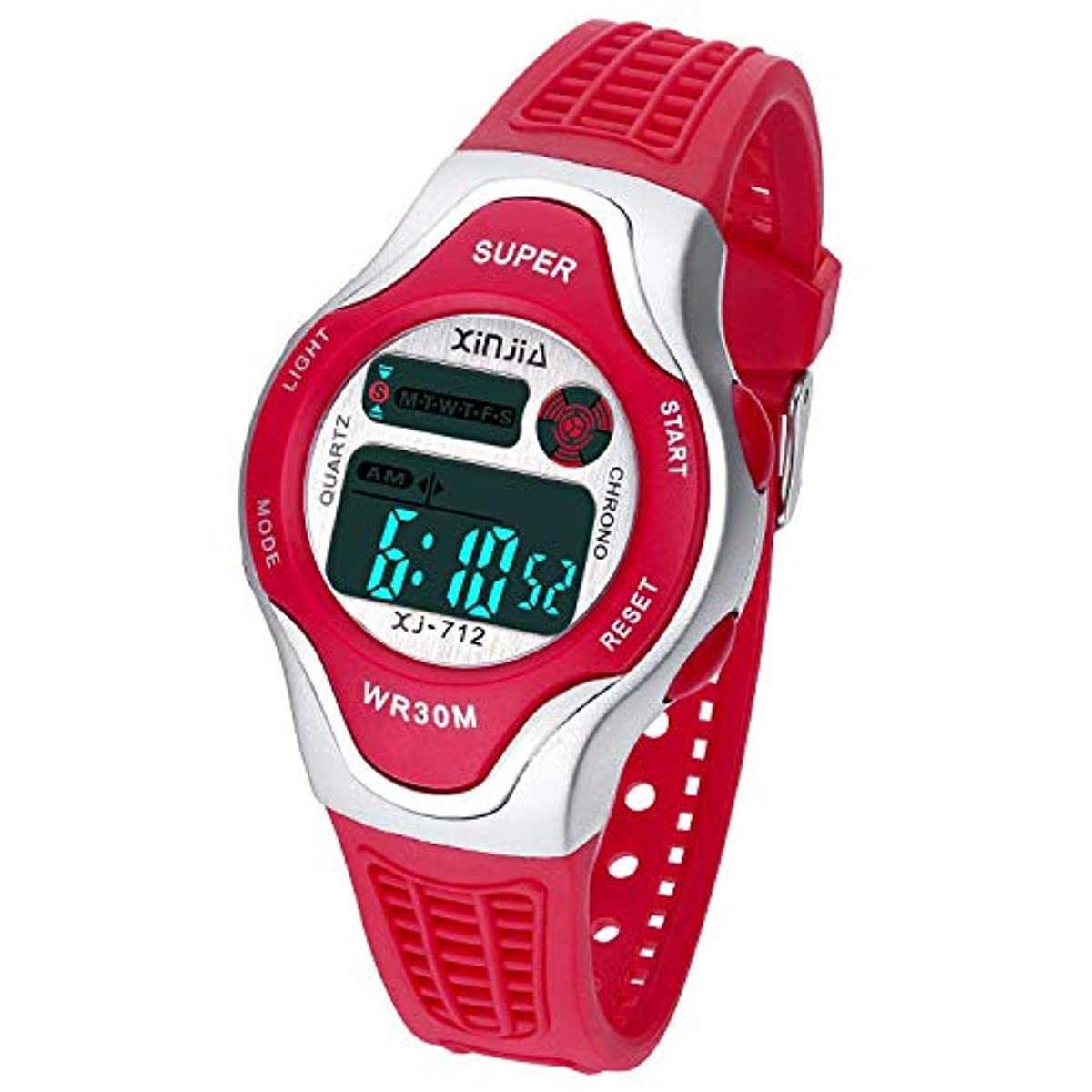 [어린이 손목시계 장난감 완구 캐릭터] Kids Digital Watch Waterproof Back Light Sports Outdoor Wrist Watches with Alarm for Boys and Girls