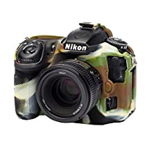 easyCover ECND500C Secure Grip Camera Case for Nikon D500 camo, Camouflage
