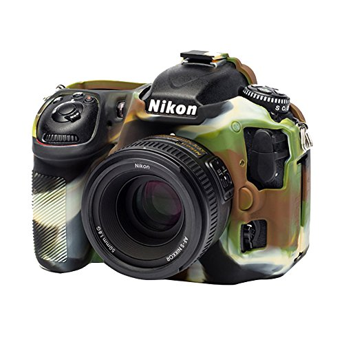 easyCover ECND500C Secure Grip Camera Case for Nikon D500 camo, Camouflage (Camera Camouflage Case)
