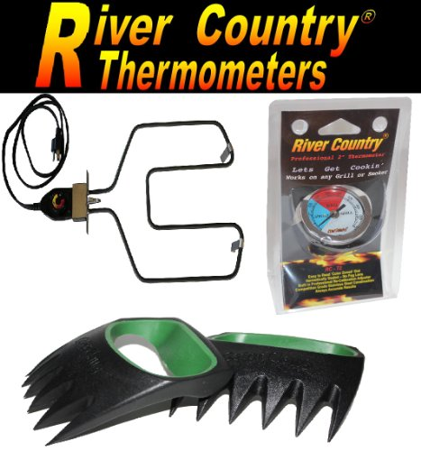 River Country Electric Smoker / Grill Combo Kit, Electric He