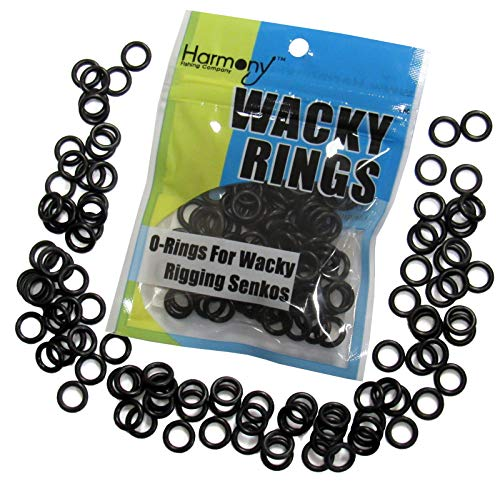 Wacky Rings - O-Rings Wacky Rigging Senko Worms (100 orings 4&5