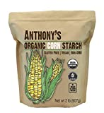 Anthony's Organic Cornstarch, 2lbs, Gluten Free, Vegan & Non GMO