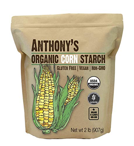 Anthony's Organic Cornstarch (2lb), Gluten Free, Vegan & Non-GMO