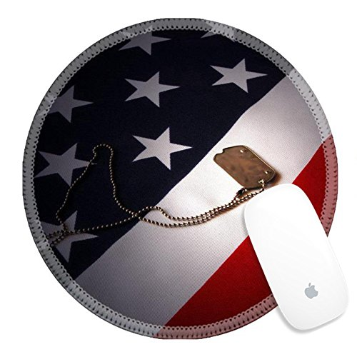 Luxlady Round Gaming Mousepad Freedom is not free IMAGE ID 7504110