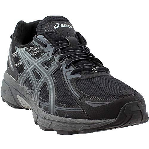 ASICS Mens Gel-Venture 6 Running Shoe, Black/Phantom/Mid Grey, 9.5 Medium US