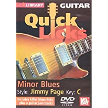 Quick Licks For Guitar Minor Blues Style: Jimmy Page Key:C DVD