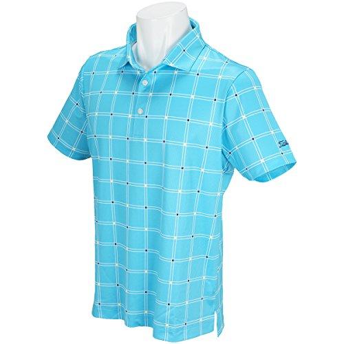 タイトリスト TITLEIST 半袖シャツ?ポロシャツ ストレッチ クールコアウインドペン半袖ポロシャツ