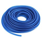 Uxcell a14051300ux0015 59ft Long 5mm ID Blue Fuel Line Scooter Boat Jet Ski Gas Lawn Mover ATV Pocket Dirt Bike