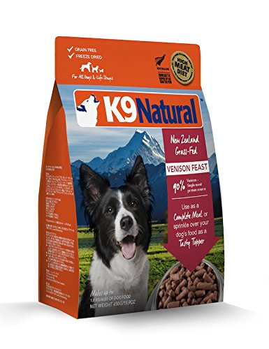 K9 Natural/Feline Natural Freeze Dried Pet Food, 1.1-Pound, Venison